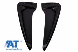 Grile Aripi Laterale compatibil cu BMW Seria X5 F15 M-Design Negru - SVBMF15MB