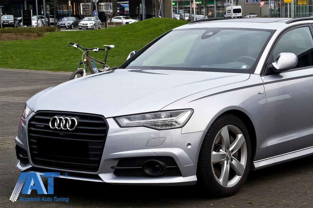 Grile Laterale Compatibil Cu Audi A6 C7 4g S Line Facelift 2015 2018 Negru Accesoriiautotuning Ro