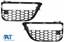 Grile Laterale compatibil cu BMW Seria 5 G30 G31 (2017-up) M5 Design Negru Lucios - SGBMG30M5WH