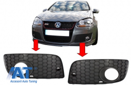 Grile laterale compatibil cu VW Golf V 5 (2003-2007) GTI Look - SGVWG5GTI
