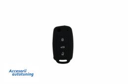 Husa Silicon Cheie Volkswagen (2005-2014) Negru - KCVW01
