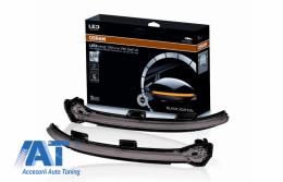 Indicator Dinamic Full LED pentru Oglinda Osram compatibil cu VW Golf 7 VII (08/2012-) VW Touran II (05/2015-) LEDriving Negru - LEDDMI5G0BK