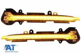 Indicator Dinamic Full LED pentru Oglinda Osram LEDriving DMI compatibil cu Seat Leon 5F (2012-) Ibiza KJ (2018-) Arona KJ (2018-) Alb - LEDDMI5F0WTS