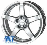 Jante auto ANZIO Drag 15, 6.5, 5, 114.3, 45, 70.1, Hyper Silver,  - ANZDRA488
