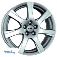 Jante auto ATS Twister 16, 6.5, 4, 100, 42, 63.3, polar-silver,