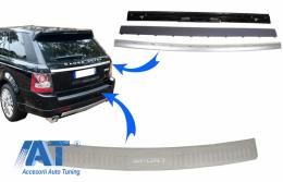 Kit Bandou Ornamente Protectie Portbagaj compatibil cu Land Rover Range Rover Sport L320 (2005-2011) Aluminiu