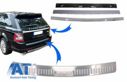Kit Bandou Ornamente Protectie Portbagaj compatibil cu Land Rover Range Rover Sport L320 (2005-2011) Crom - COFPRRSL320TTC