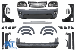 Kit complet de conversie compatibil cu Land Rover Discovery 3 in Discovery 4 Facelift - CBLRD4