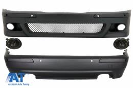 Kit Exterior compatibil cu BMW Seria 5 E39 (1995-2003) +Proiectoare Fumurii - COCBBME39M5DOPS