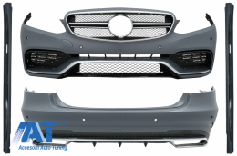 Kit Exterior compatibil cu Mercedes E-Class W212 Facelift (2013-2016) E63 Design - CBMBW212FAMG