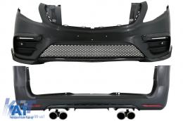 Kit Exterior Complet compatibil cu Mercedes V-Class (2014-Up) W447 B Design - CBMBW447BRB