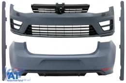 Kit Exterior Complet compatibil cu VW Golf 7 VII Hatchback (2013-2017) R Design - CBVWG7R20