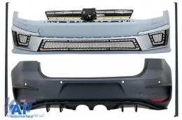 Kit Exterior Complet compatibil cu VW Golf 7 VII 5G1 (2012-2017) R400 Design - CBVWG7R400