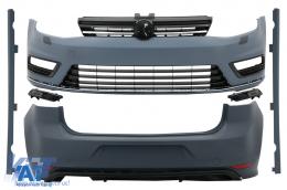 Kit Exterior Complet compatibil cu VW Golf VII 7 (2012-2017) R-line Look - CBVWG7RL