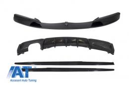 Kit Prelungire Bara Fata , Difuzor si fuste laterale pentru praguri BMW Seria 3 F30 M-Performance Carbon - CBBMF30MPC