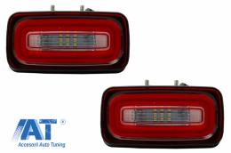Lampa Ceata Full LED compatibil cu MERCEDES Benz W463 G-Class (1989-2015) Rosu Clar - FLMBW463LBR