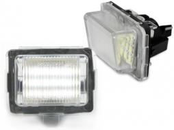 Lampa de numar LED Canbus compatibil cu MERCEDES Benz W204, W221, W212 - LPLMB02