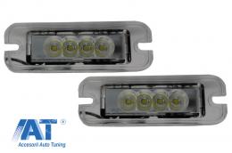 Lampa Numar Inmatriculare LED compatibil cu MERCEDES G-Class W463 (1989-up) - LPLMBW463C