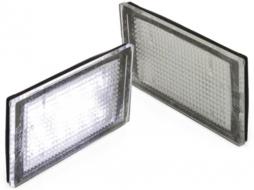Lampi de numar 16 LED compatibil cu BMW E46 2D ( 1998 - 2003 ) - LPLB12