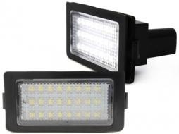 Lampi de numar cu LED-uri compatibil cu BMW E38- - LPLB18
