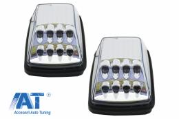 Lampi Semnalizare Alb Clar LED compatibil cu MERCEDES Benz W463 G-Class W463 (1989-2015) - TRLMBW463LEDC