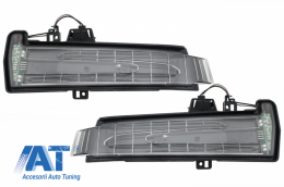 Lampi Semnalizare Oglinzi compatibil cu MERCEDES A-Class W176 B-Class W246 C-Class W204 CLS W218 E-Class W212 S-Class W221 G-Class W463 Facelift Look - TRLMBW221