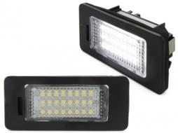 Lampi Suport Numar Inmatriculare LED Audi A1 8X, A3 8V, A4/S4 8K, A5/S5 8T, A6 4G/C7, A7 4G/C7, TT 8J, Q3, Q5 - LPLAU11/V-030802