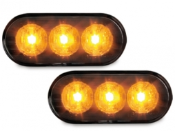 LED semnal aripi lukas VW Seat Skoda Ford negru - SV04LB