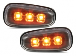 LED side marker suitable for OPEL Astra G, Zafira A _black - SO02EB