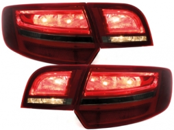 **LED taillights suitable for AUDI A3 Sportback 04-08_ red/smoke - RA17DLRS
