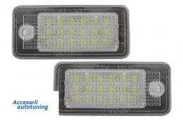 Leduri pozitie numar - lampi pozitie numar audi A3 8P, A4 B7, A6 05, A8 03,Q7 ,RS4 , RS6 - V-030804