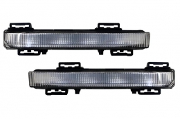 Lumini de zi dedicate cmpatibil cu Mercedes C-Class W204 (2007-2014) A-Design DRL - DRLMBW204AMG