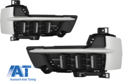 Lumini de zi dedicate LED BMW X5 F15 (2013-2018) - DRLBMX5F15
