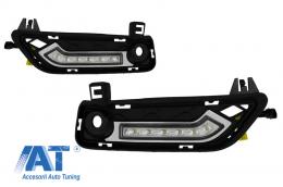 Lumini de zi dedicate LED DRL BMW X3 F25 2011-up - V-130107