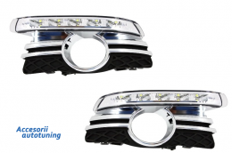 Lumini de zi dedicate pentru Mercedes Benz W204 Avantgarde (2007-2011)   - 1672688