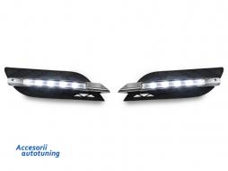 Lumini de zi dedicate Proiector cu grila Mercedes W211 Non-AMG LED DRL (07-09) - 1615488