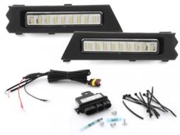 Lumini de zi LED compatibil cu Dacia Sandero Sandero Stepway Logan 2012+ - MODD01EP