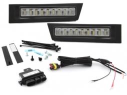 Lumini de zi MODULITE compatibil cu SKODA Octavia 1Z facelift 09-13- - MODSK04EP