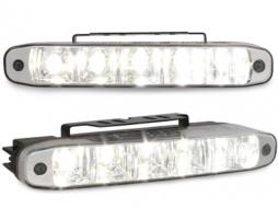 Lumini de zi TFL cu 5 hipower LED LxHxT 160x24x54mm (2 buc) - LGX07
