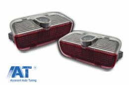 Lumini Intimpinare LED Logo Volkswagen Golf Passat Tiguan Scirocco EOS  - CLVW01