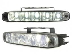 lupentru MINI de zi TFL cu 5 hipower LED LxHxT 160x24x54mm negru - LGX07B