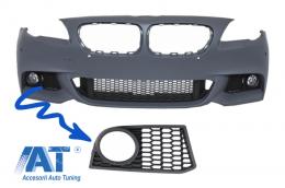 Ornament Proiector Dreapta compatibil cu BMW F10 (2010-up) compatibil cu bara fata M-Technik Design - ZUB00030