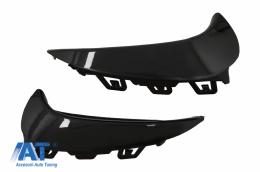 Ornamente Bara Spate Flapsuri Negru Lucios compatibil cu Mercedes GLA SUV H247 (2020+) Sport Line - RFOBH247