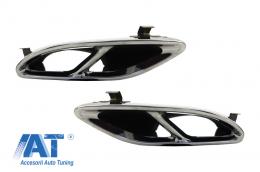 Ornamente compatibil cu sistemul de evacuare Mercedes GLC 45 X253 C253 GLE SUV W166 Coupe C292 450 C-Class W205 C43 Sport Design - TY-GLE450