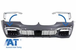 Ornamente Crom compatibile cu BMW 7 Series G12/G11 (2015-02.2019) doar Bara M-tech M- Sport - CCFBMBG12