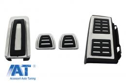 Ornamente Pedale Audi A3 8V, compatibil cu VW Golf 7, Seat Leon 5F, Skoda Octavia 3 Manual - KPAU01