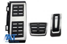 Ornamente Pedale  compatibil cu VW Golf 7, Passat B8, Tiguan 2016, Touran 2016, Audi A1 8x, A3 8V, TT 8s, Q2, Seat Leon 3 5 F Automatic - KPVW03
