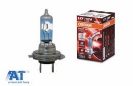 OSRAM NIGHT BREAKER LASER H7 Bec Auto Halogen +150% 64210NBL H7 12V 55W (1 Bec) - 64210NL