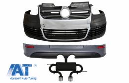 Pachet Complet compatibil cu VW Golf V 5 (2005-2007) si Sistem de evacuare complet R32 Design - COCBVWG5R32ES