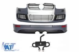 Pachet Complet compatibil cu VW Golf V 5 2005-2007 R32 Design Sistem de Evacuare - COCBVWG5R32AES